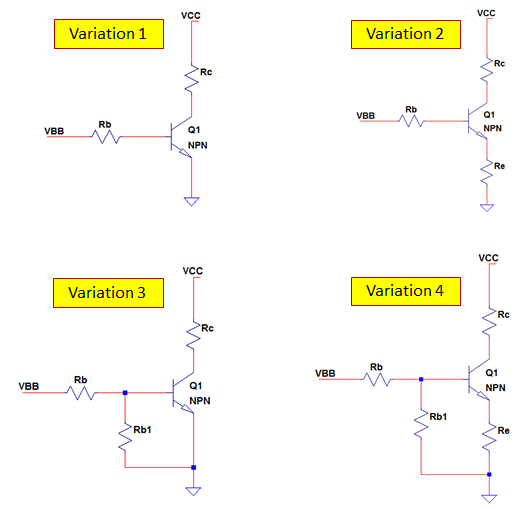 how to connect a npn transistor