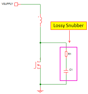 lossy snubber