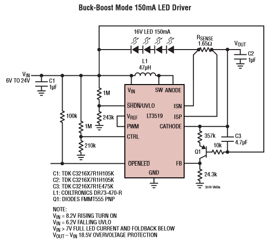 pic 14 led driver circuit explained and available solutions led drivers diagram at fashall.co