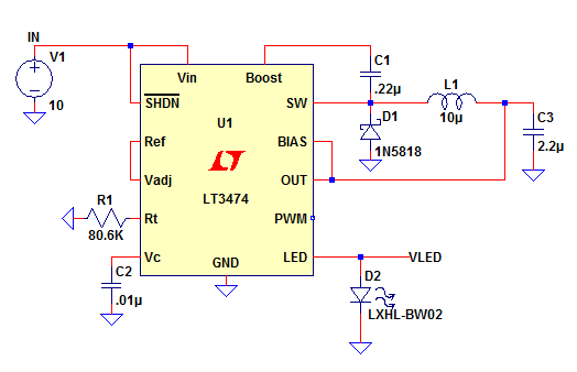 pic 7 led driver circuit explained and available solutions led drivers diagram at fashall.co